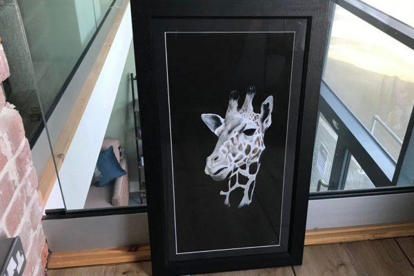 cassie williams framed print tall tears