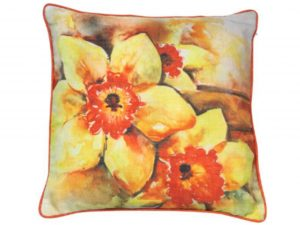Sopha Daffodil Floral Cushion