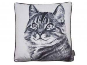 Sopha Feline Friend Misty Cushion